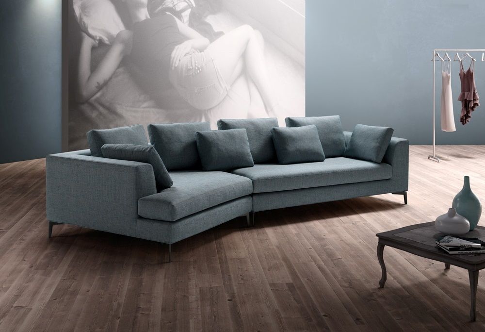 Divano di design harry sofa 39 club sas montebelluna tv - Divano con chaise longue ...