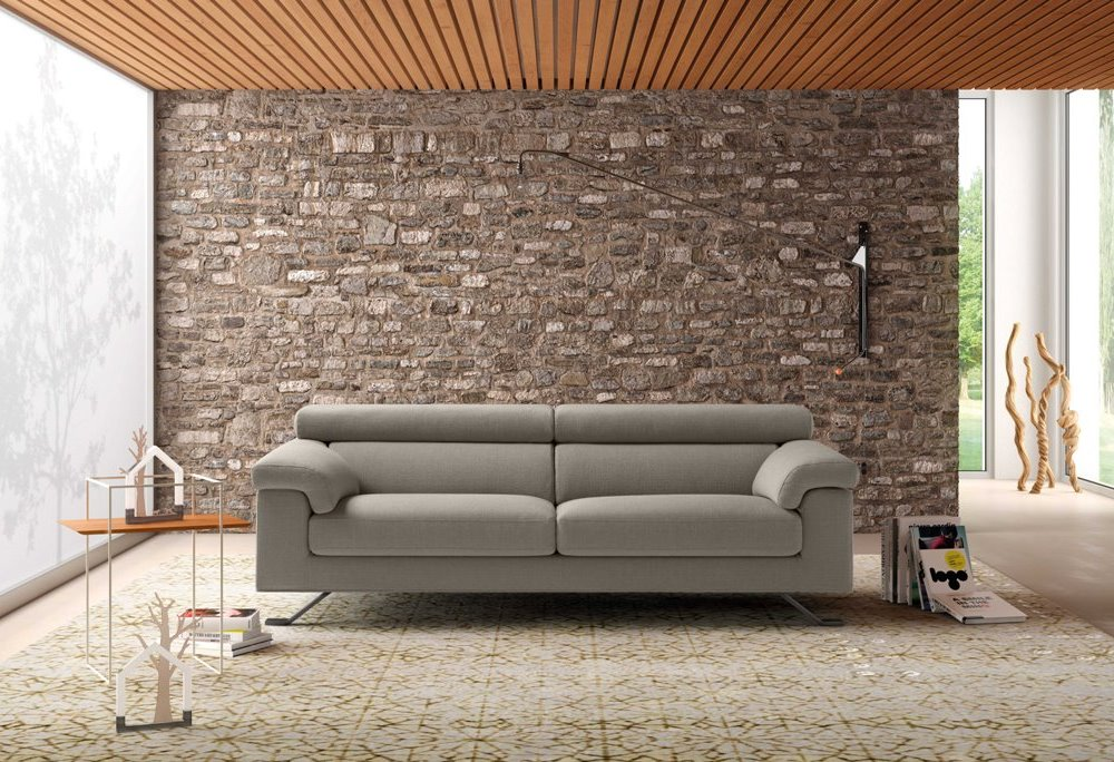Divano relax con sedute scorrevoli all inclusive outlet for Poltrone reclinabili poltrone e sofa