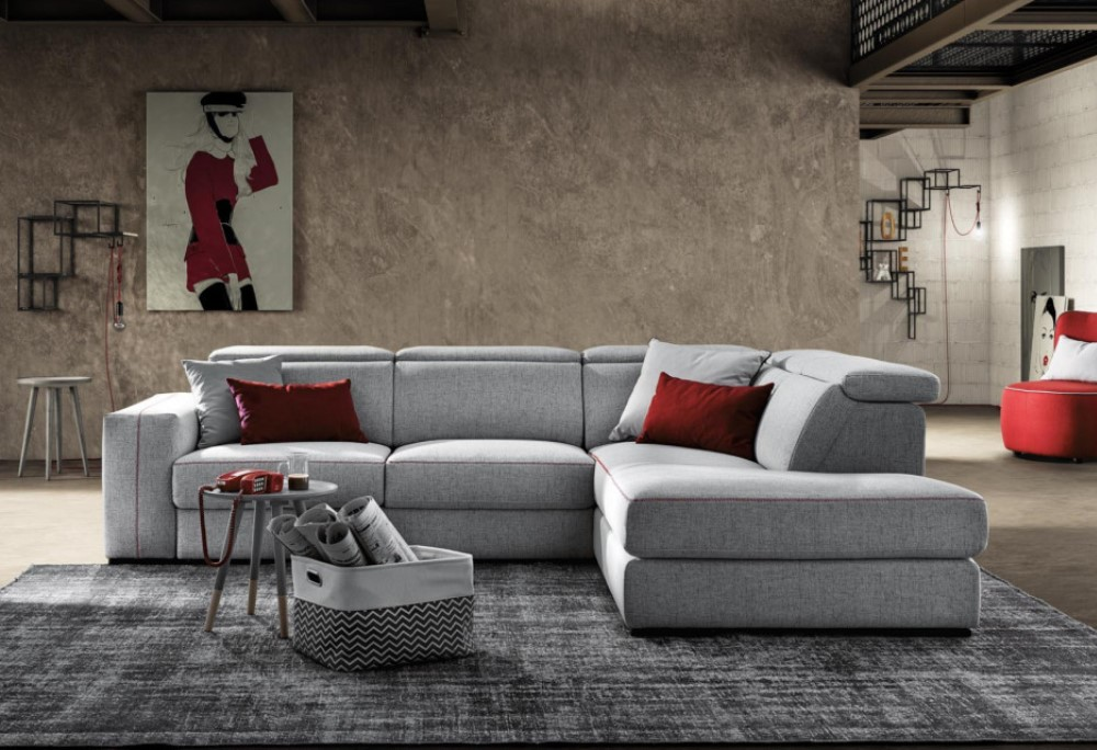 Divano relax con sedute scorrevoli madison sofa club for Poltrone reclinabili poltrone e sofa